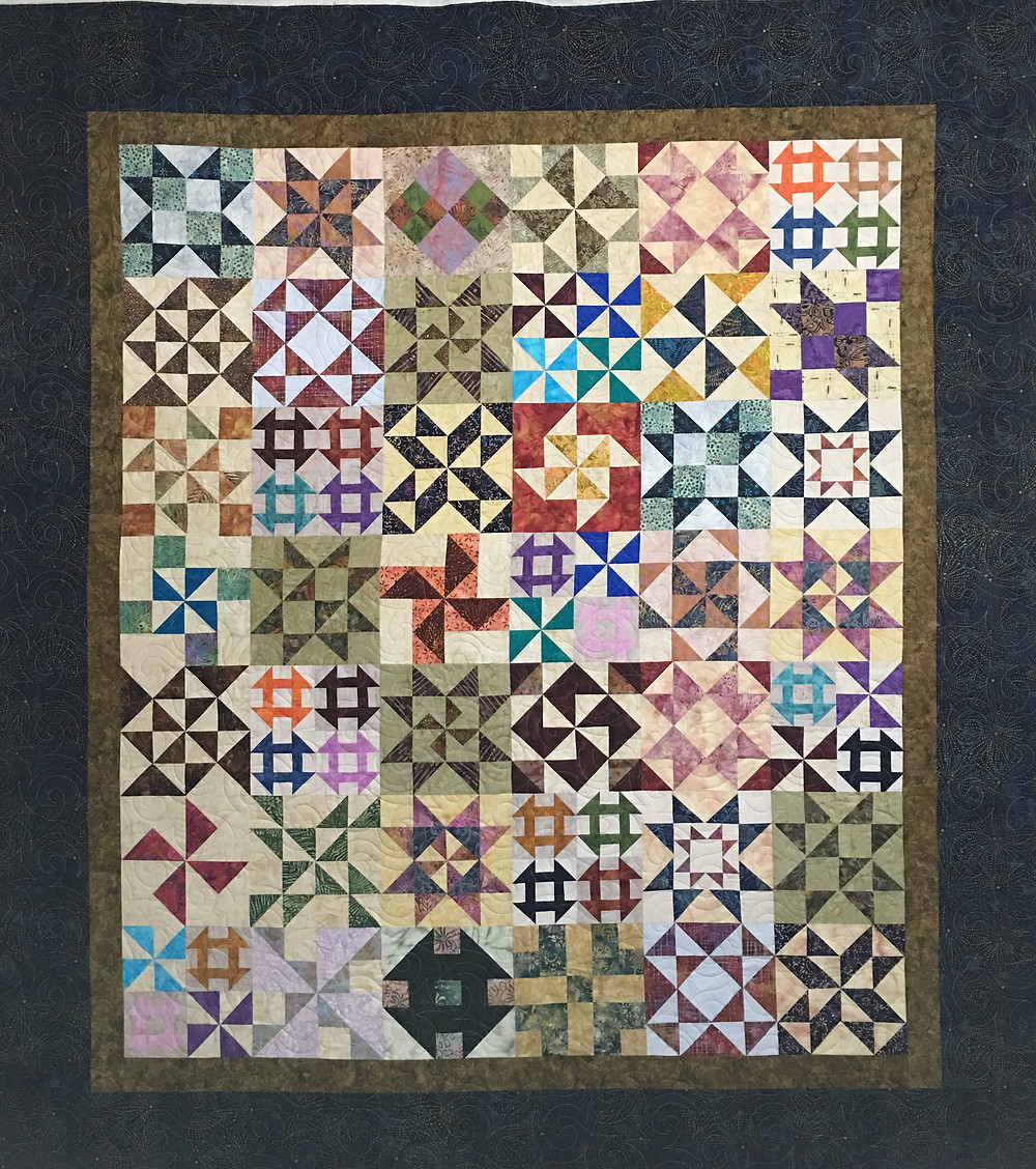 Five and Dime Quilt by Terri Manley