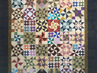 Terri Manley Combined Five and Dime Quilt