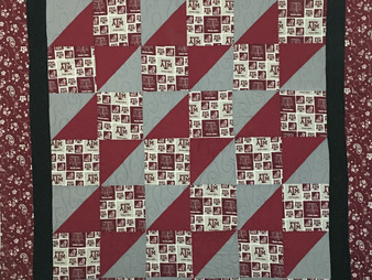 Jefferson Sutton Texas A and M Quilt