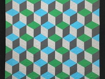 Cindy Lovelace Rhombus Quilt