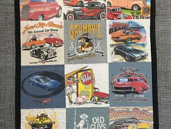 Linda Maker Car Show T Shirts Quilt