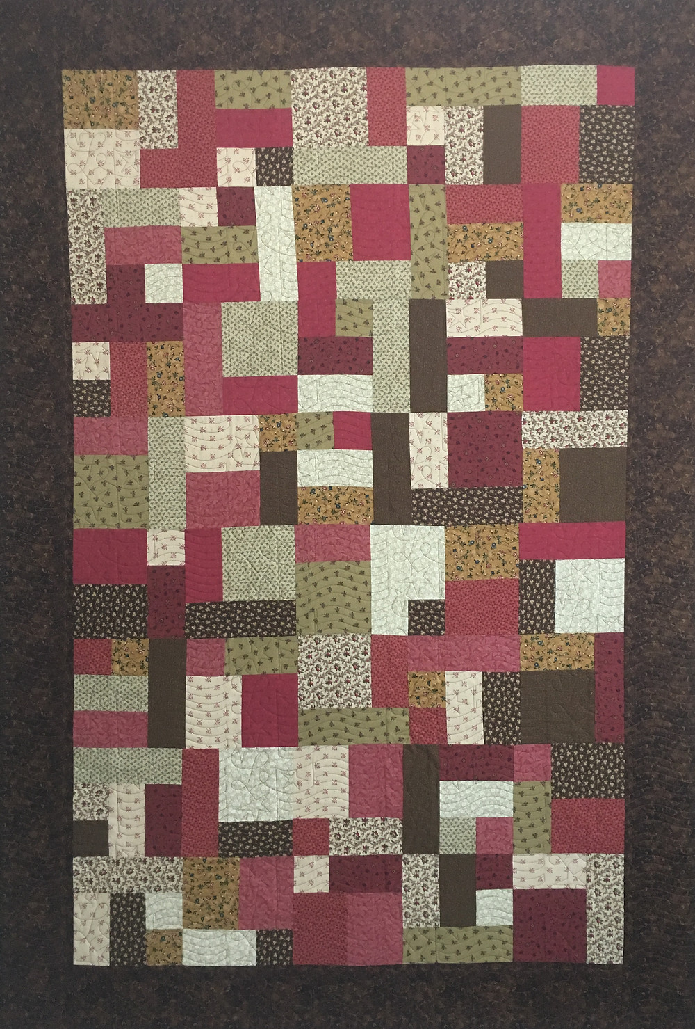 Yellow Brick Road Quilt by Amy Gibbs