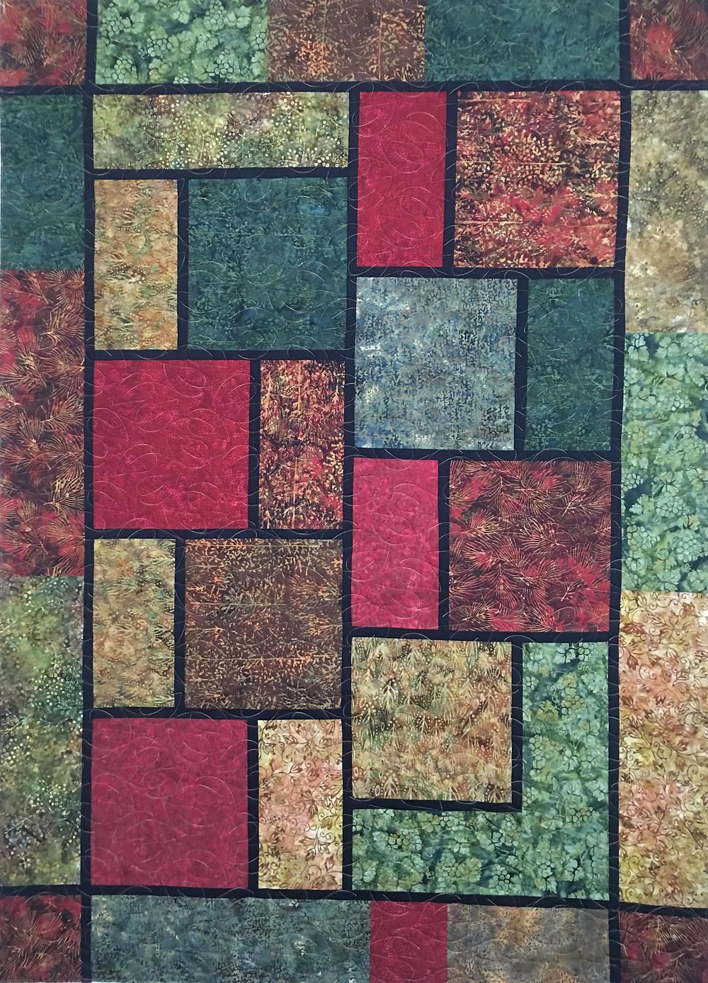 Laura Random Square Quilt