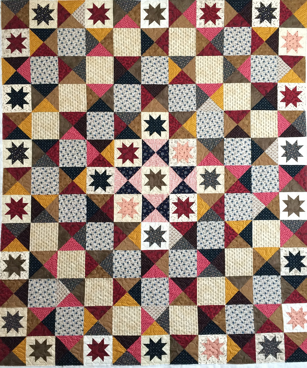 Julianna Civil War Battlefield Quilt