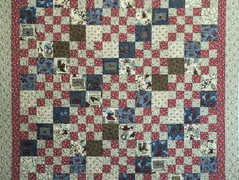 Leslie St.Onge Alternating Blocks Quilt