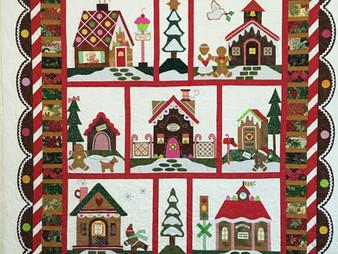 Liz Zoch Gingerbread Village Quilt