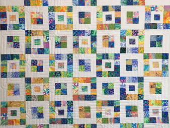 Nancy Nesbaum Royal Boxes Quilt