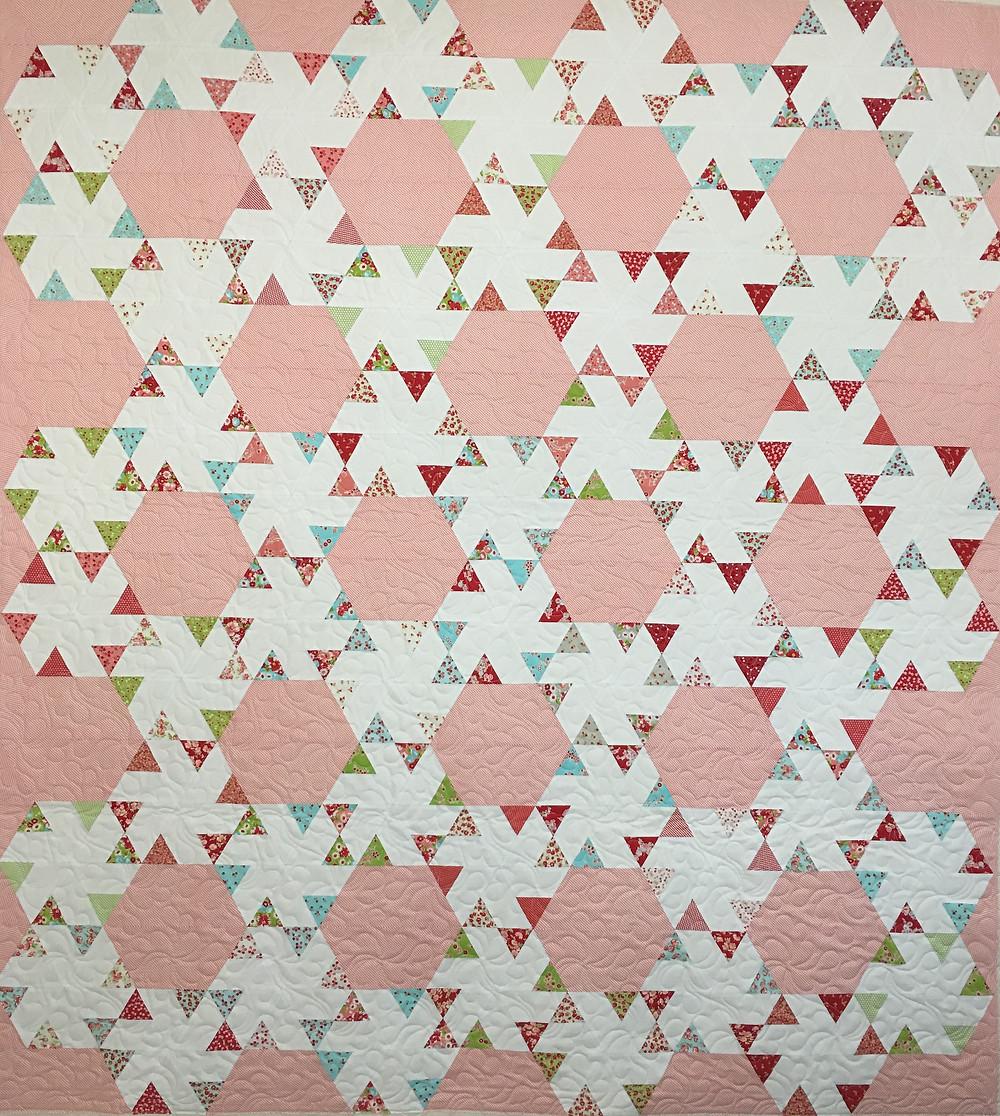 Ruby 2 Bonus Quilt by Delfina Guerra