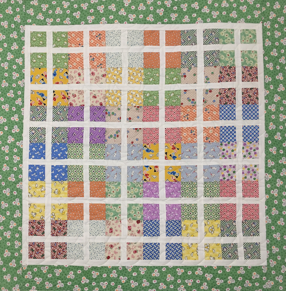 Pastel Colors Quilt by Barbara Brown