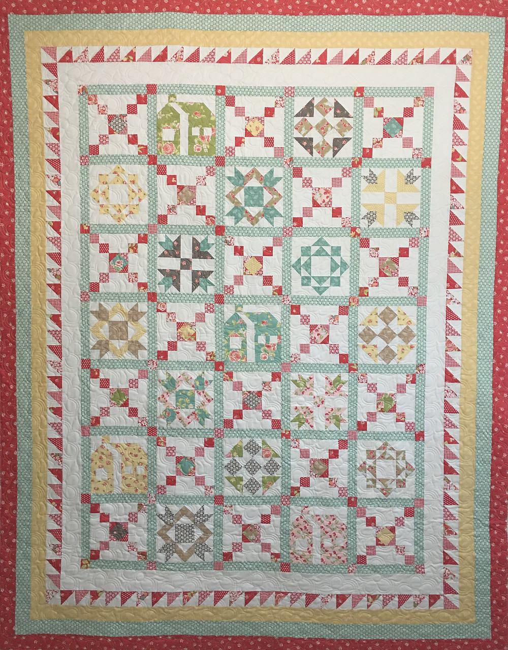 Crossroads Quilt by Sally Matoushek