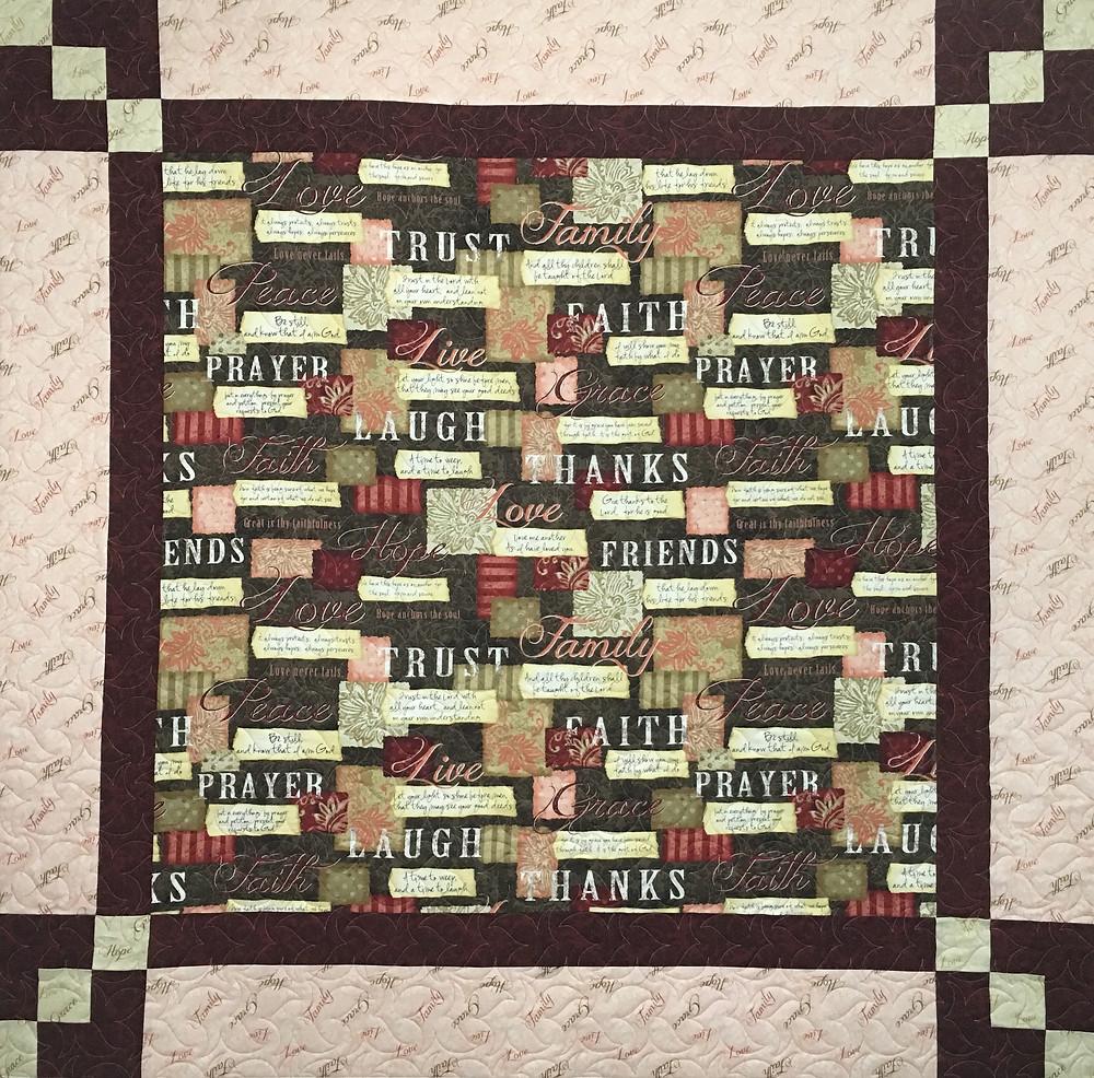 Wendy Prayer Quilt