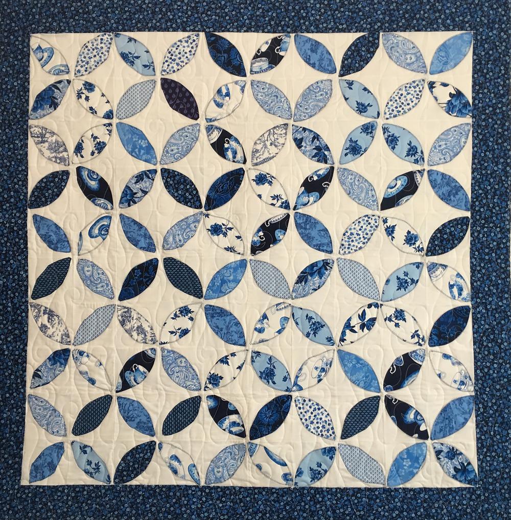 Orange Peel Quilt by Elizabeth Chicchino