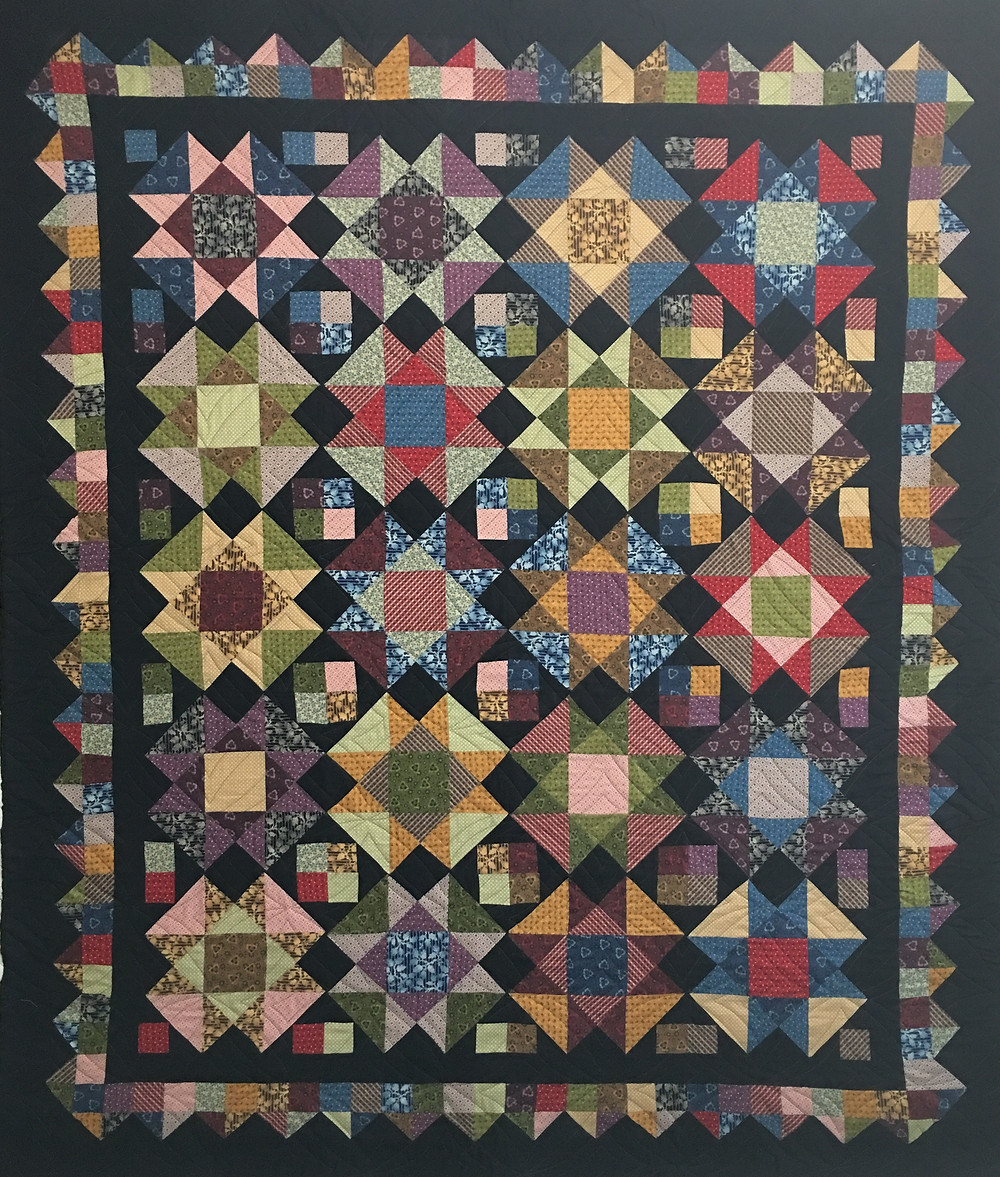 Prim and Dandy Quilt by Cynthia Parra