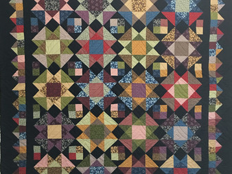 Cynthia Parra Prim and Dandy Quilt
