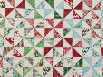 Delfina Guerra Christmas Pinwheel Quilt