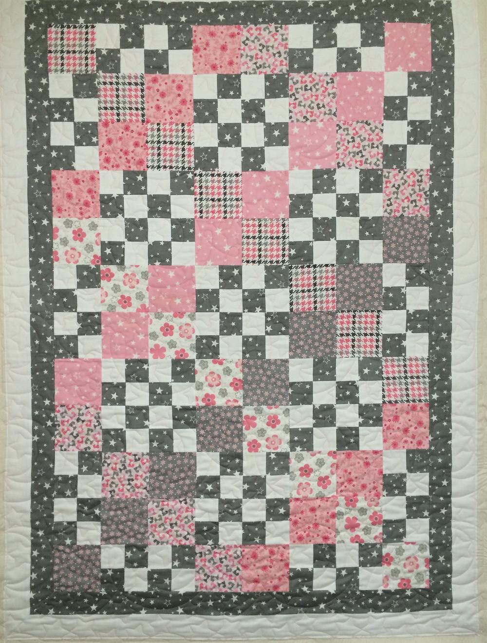 Leslie Block Baby Quilt