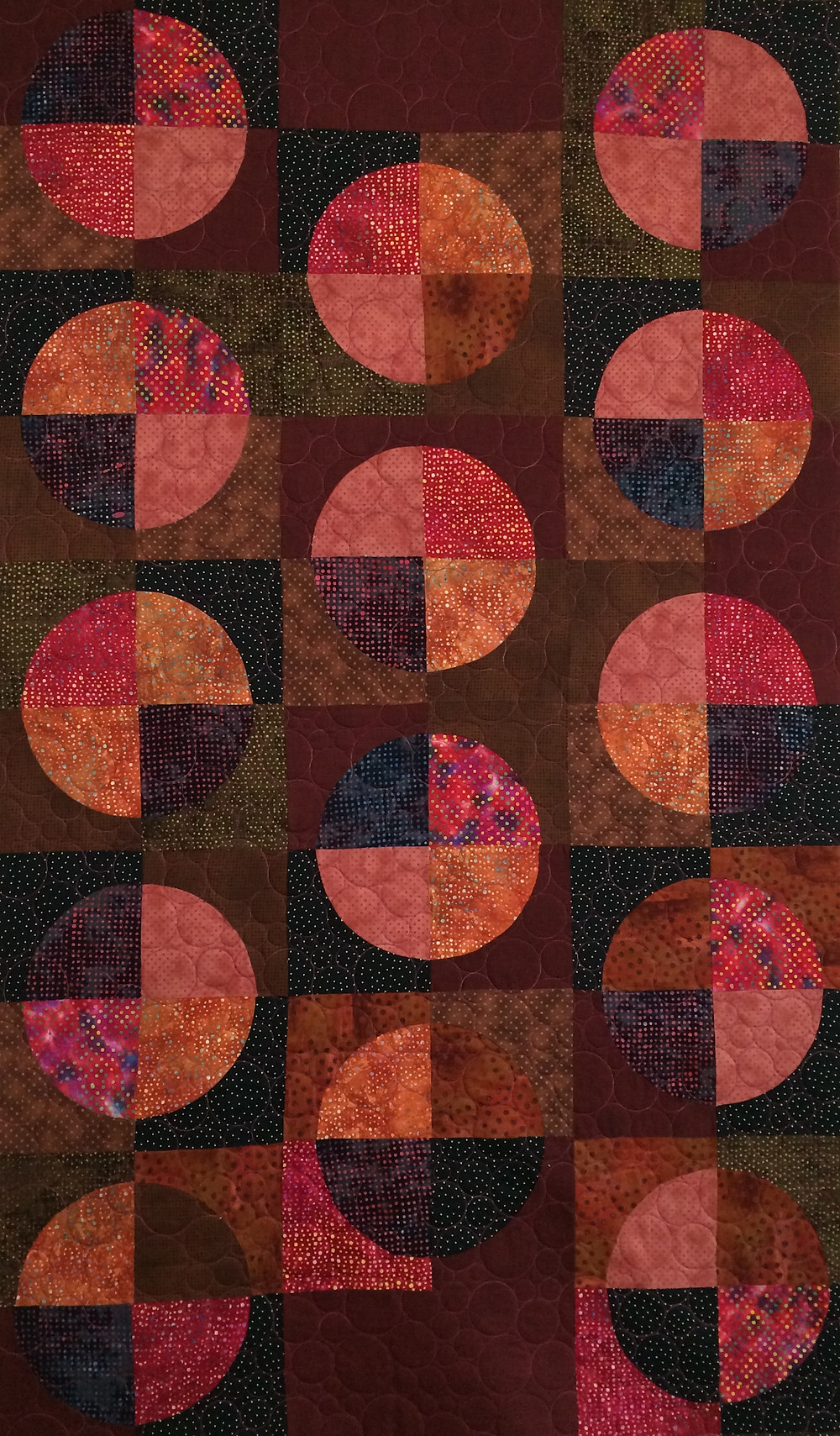 Sue Floating Circles Quilt