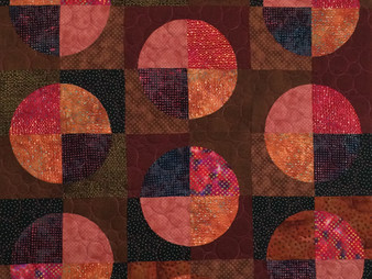 Sue Antle Floating Circles Quilt