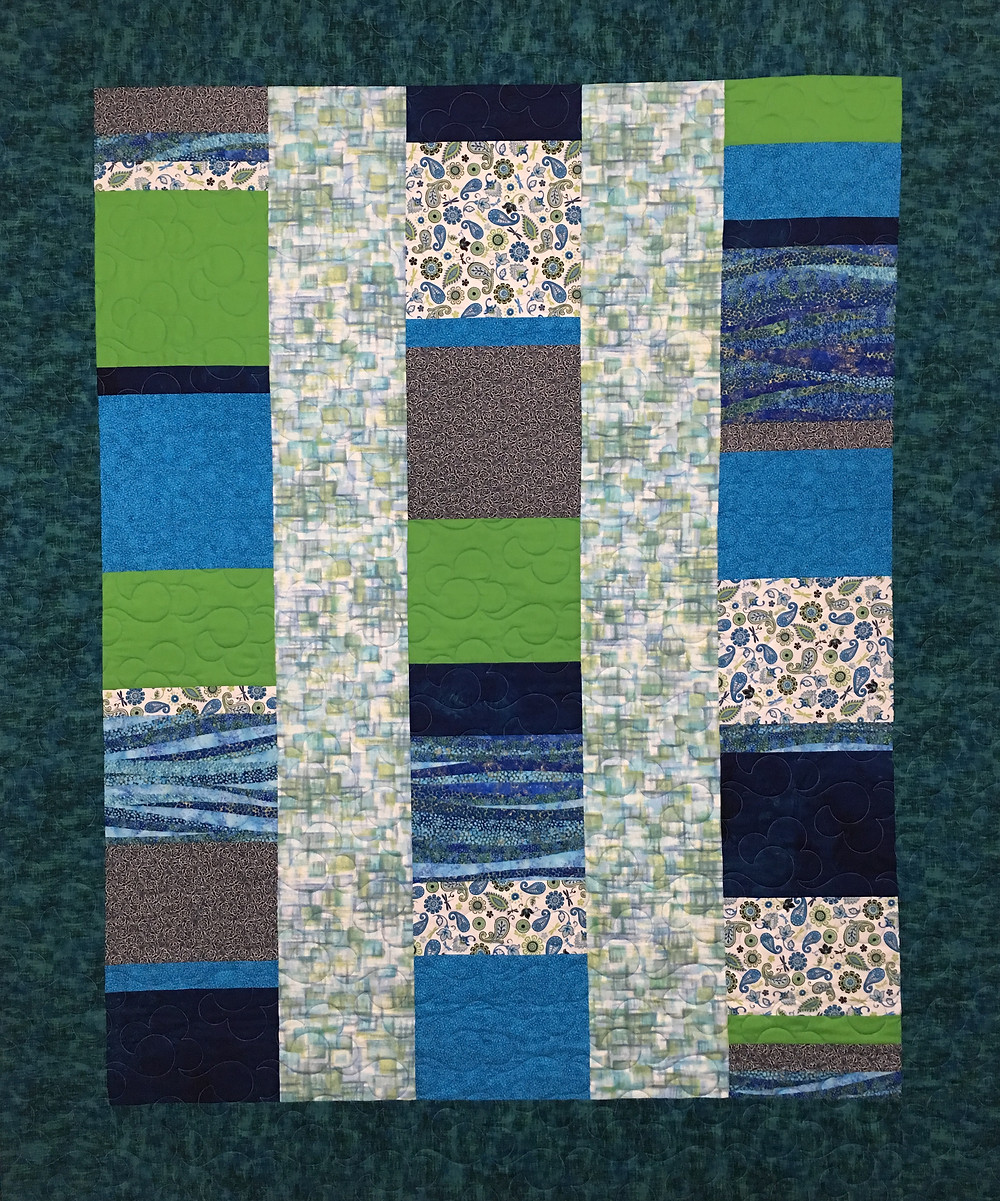 Modern Five and Dime Quilt by Lynne Capps
