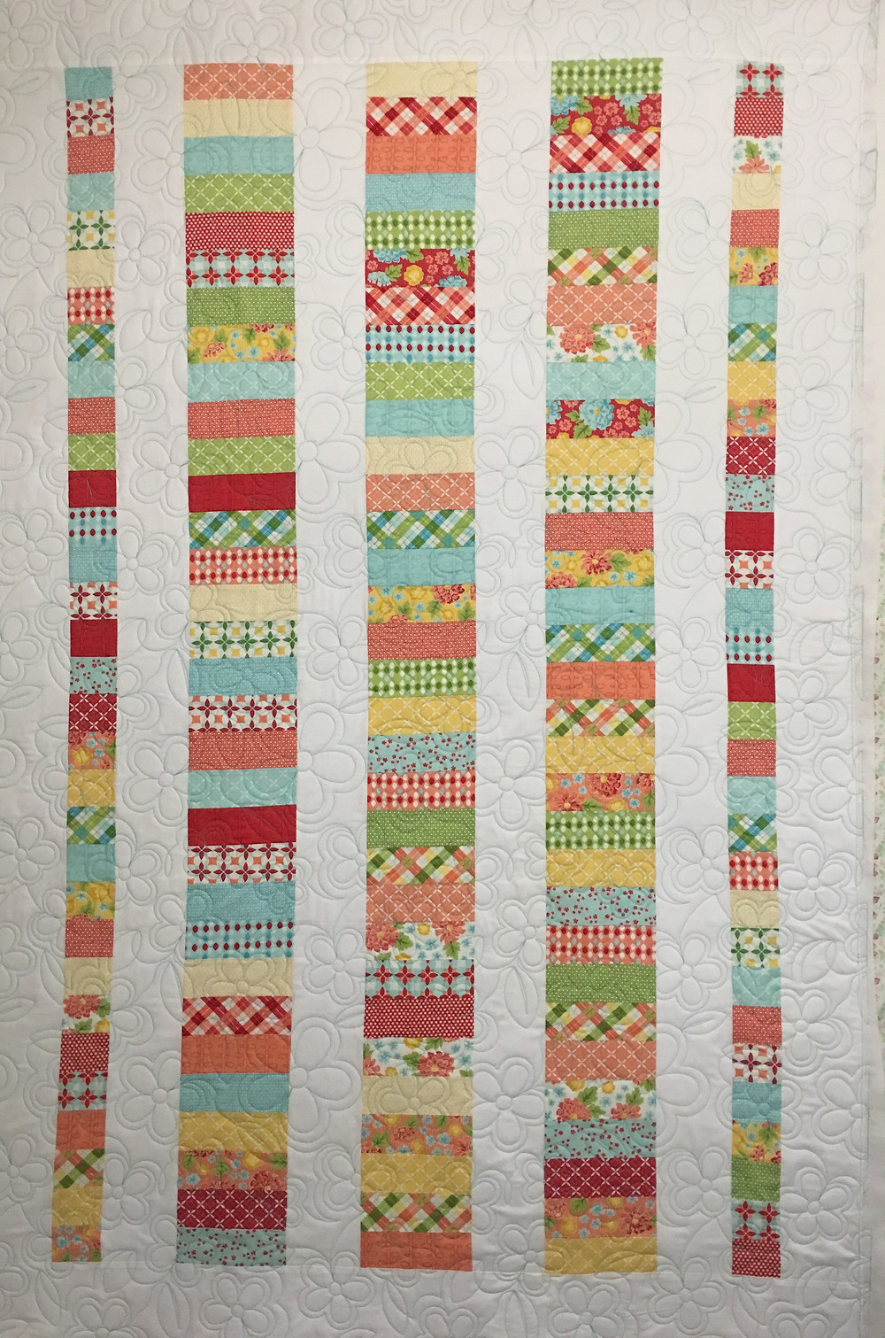Jelly Rolly Quilt by Debbie Seitz
