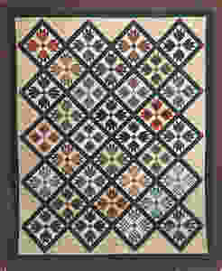Plaid Paws Quilt by Roxane Darnell