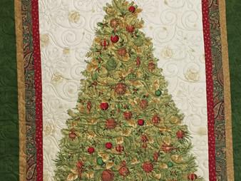 Sally Krebs Christmas Tree Wall Quilt