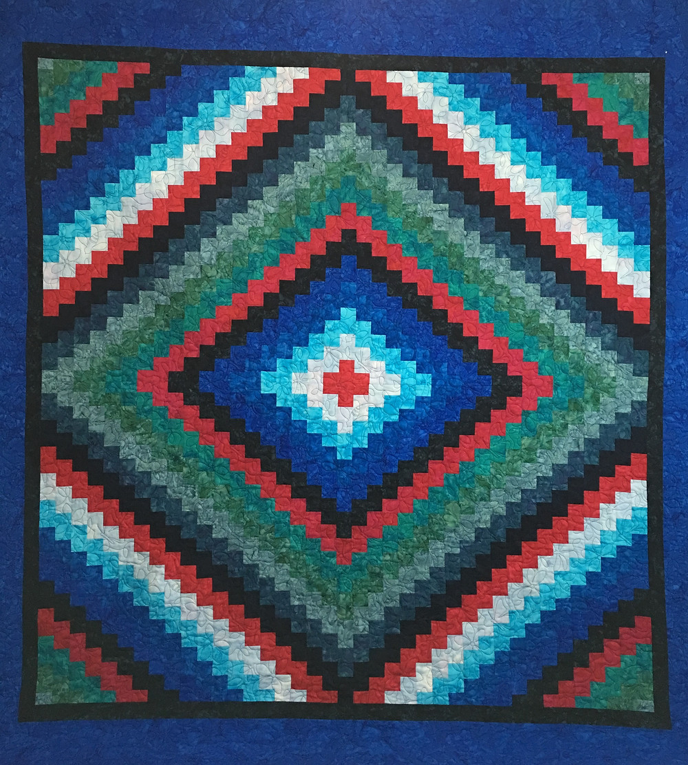 Trip Around the World Quilt by Elsa Murray