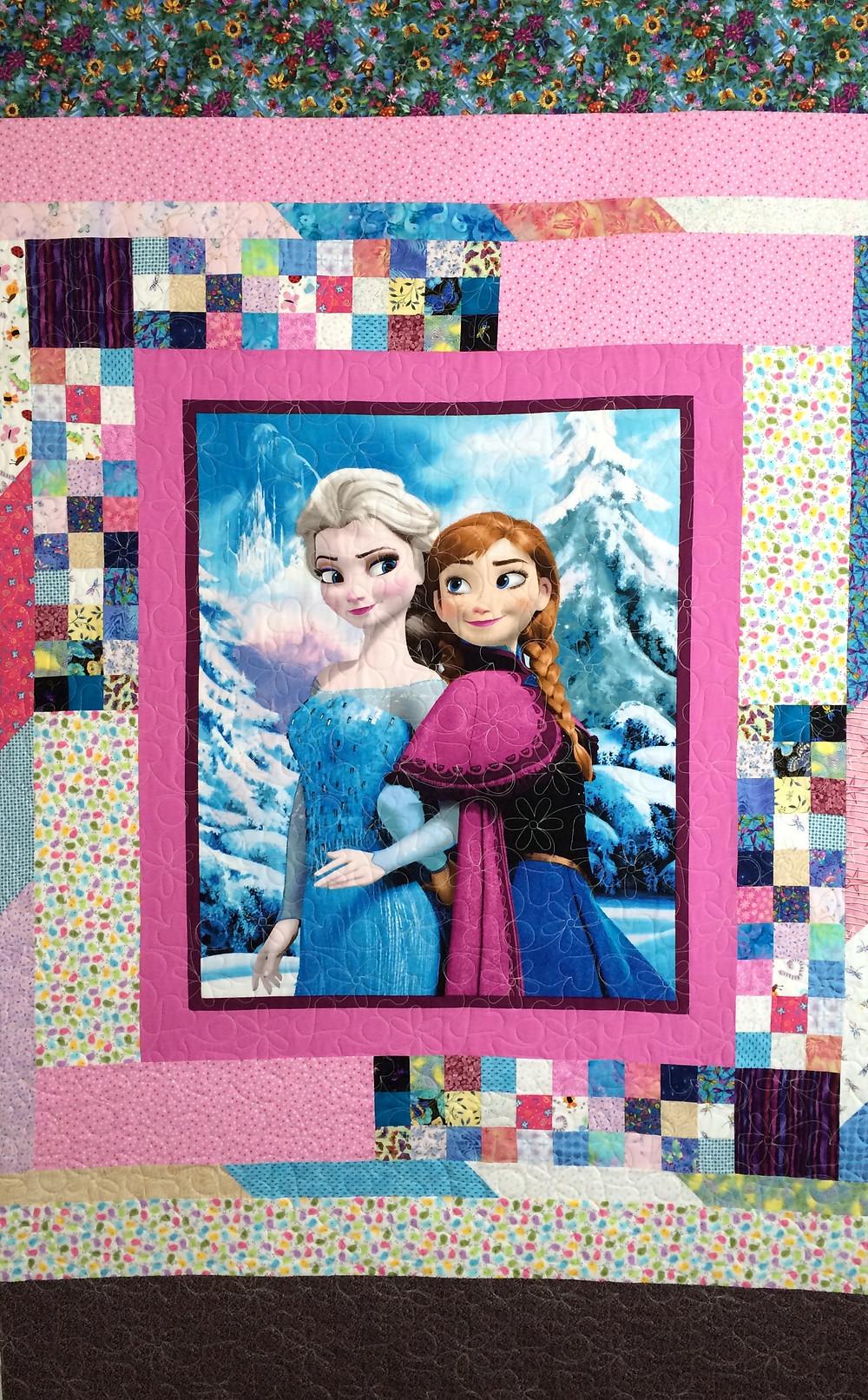 Kristi Disney's Frozen Quilt