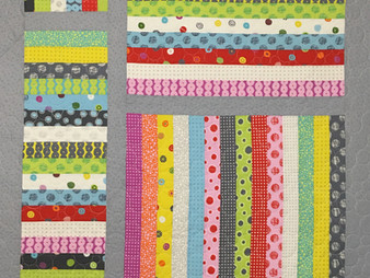 Andi Hays Jelly Roll Quilt for Grandbaby
