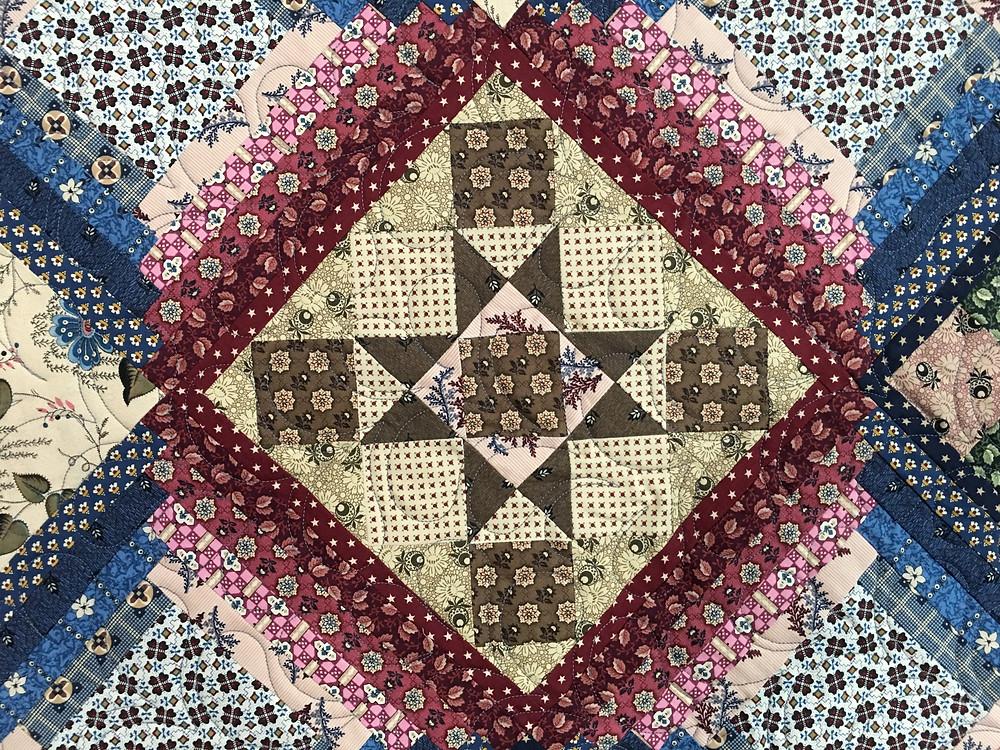 Another Closeup of Janet Jones Civil War quilt