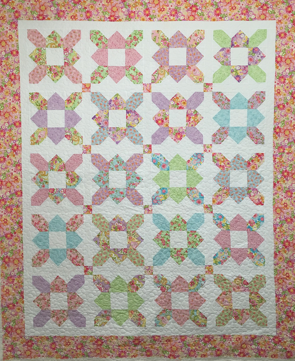 Mary Prairie Flower Quilt