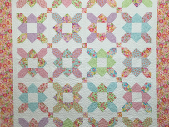 Mary Derryberry Prairie Flower Quilt