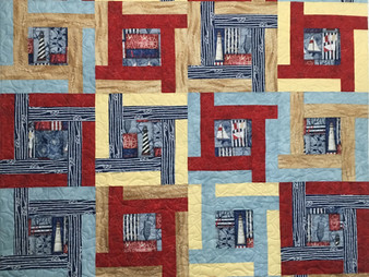 Lisa Fahlquist Nautical Quilt for Dad