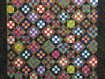 Chris Olsen Nine Patch Play Quilt