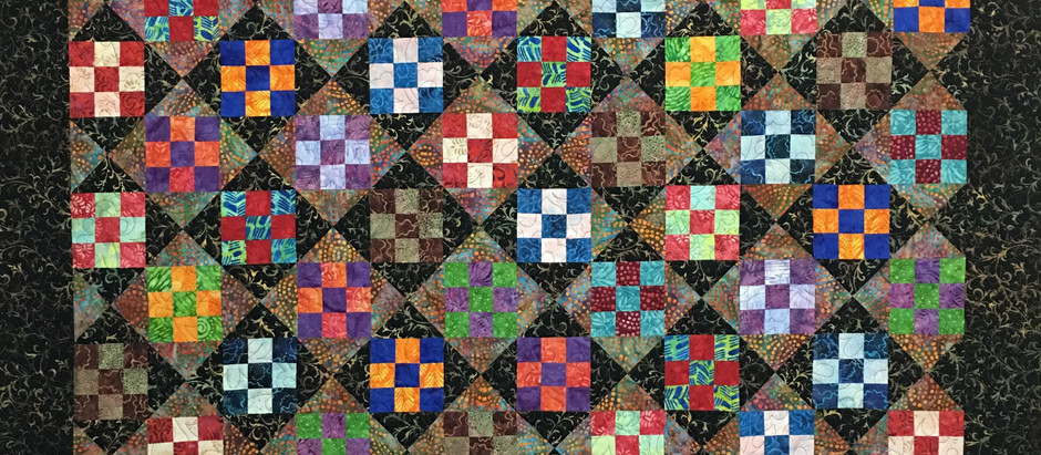 Chris Olsen Nine Patch Play Quilt