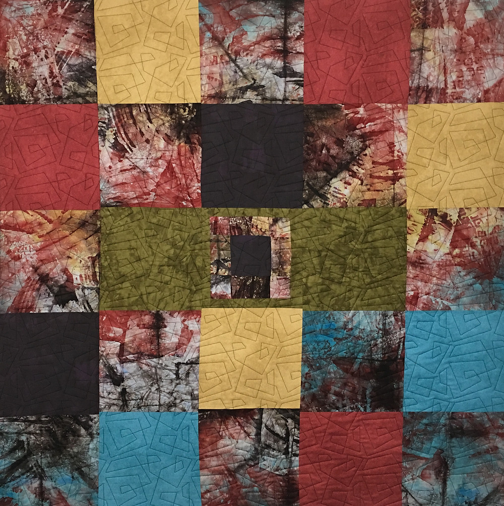 Large Squares of color by Laura Joy