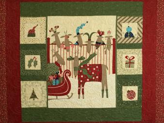 Nancy Thornton Reindeer Quilt