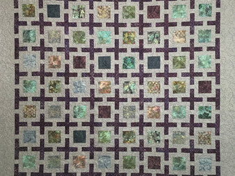 Carolynn Seward Floating Squares Quilt