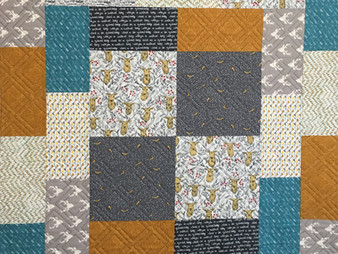 Debbie Seitz Boy Hunter Quilt