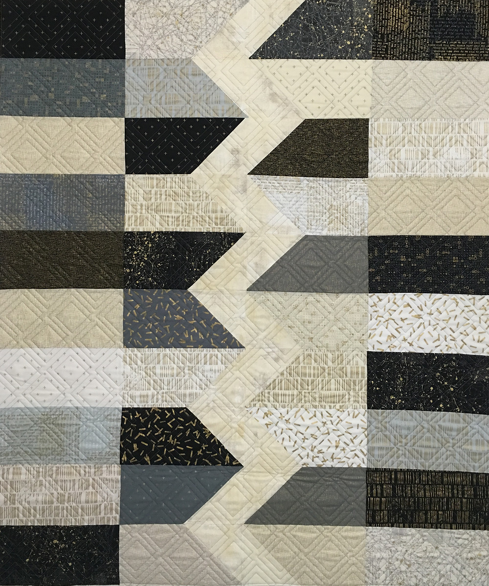 Mind the Gap Quilt by Andie Conners
