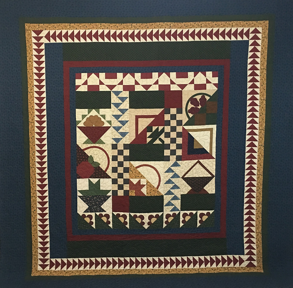 Thimbleberries Block of the Month Quilt by Sheila Stuckey