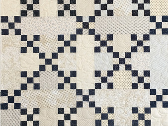 Barbara Brown Crossroads Baby Quilt