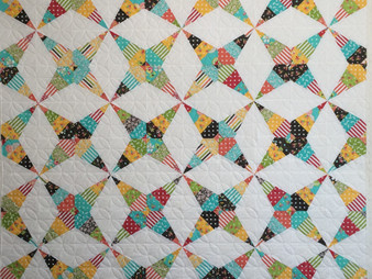 Deborah Hawkins Star Points Quilt