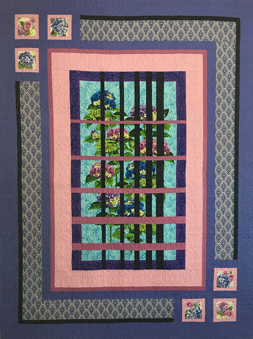 Convergence quilt by Wendy Bell