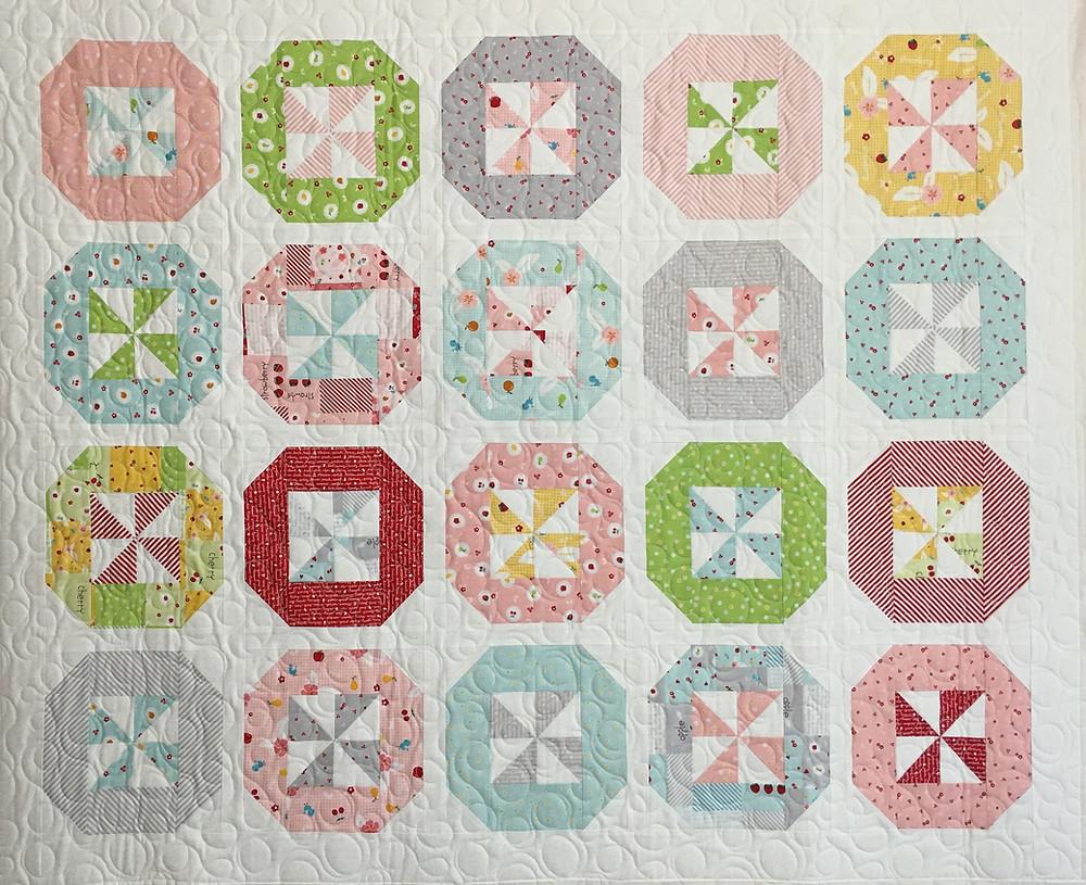 Pinwheels Quilt by Sally Matoushek