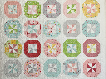 Sally Matoushek Pinwheels Quilt