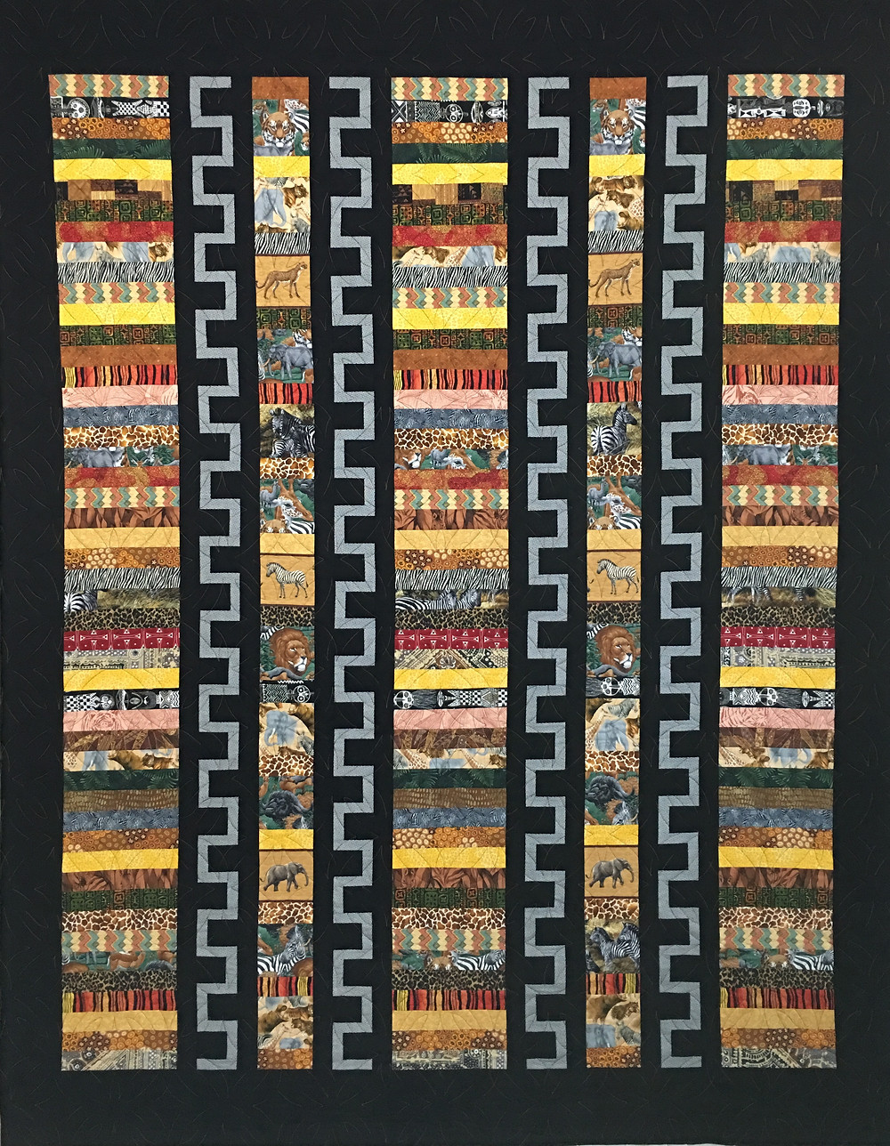 Out of Africa Quilt by Elon Webber