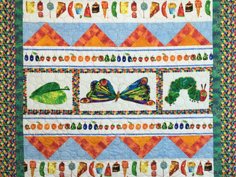 Leanne Strum's Very Hungry Caterpillar Quilt
