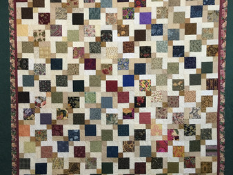 Sally Krebs's Disappearing 9 Patch Quilt