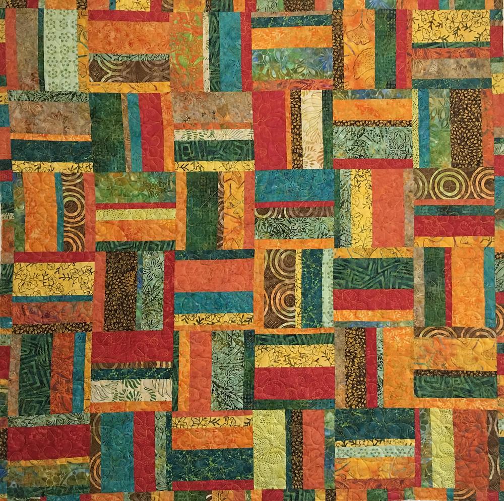 Tonga Treats quilt by Valarie Sherriff
